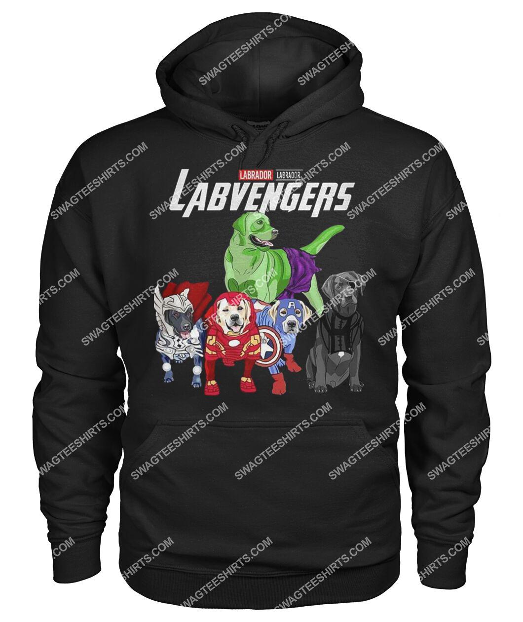 labrador labvengers marvel avengers dogs lover hoodie 1
