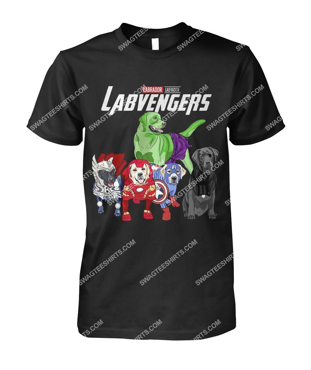labrador labvengers marvel avengers dogs lover tshirt 1