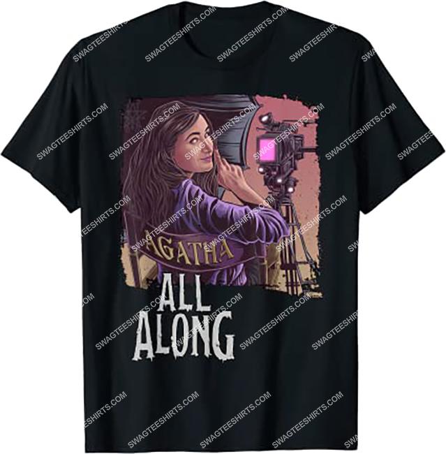 marvel wanda vision it was agatha all along vintage shirt 1 - Copy