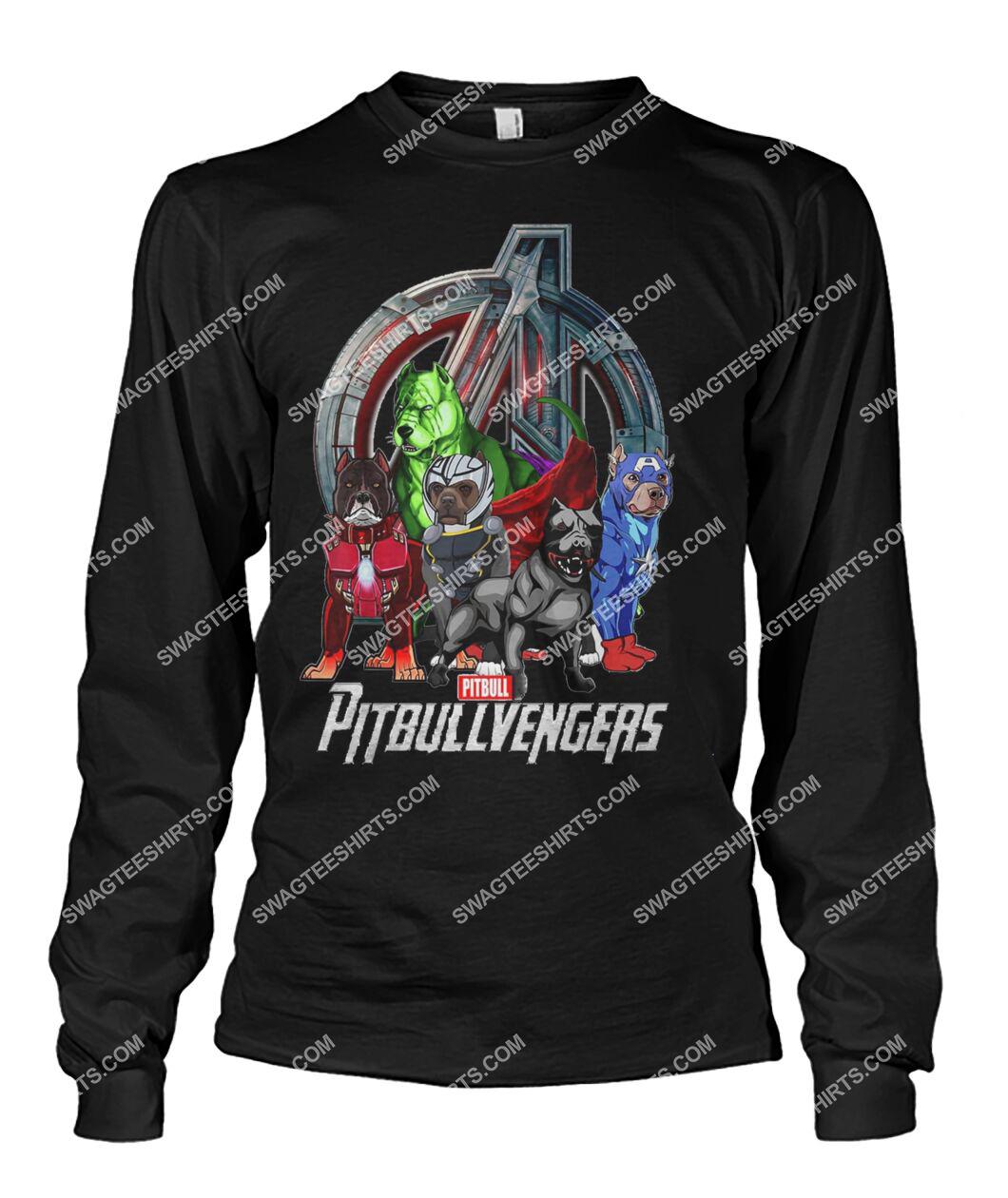 pit bull pitbullvengers marvel avengers dogs lover sweatshirt 1