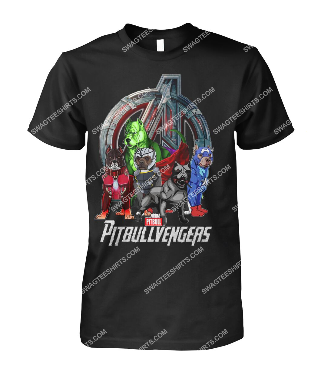 pit bull pitbullvengers marvel avengers dogs lover tshirt 1