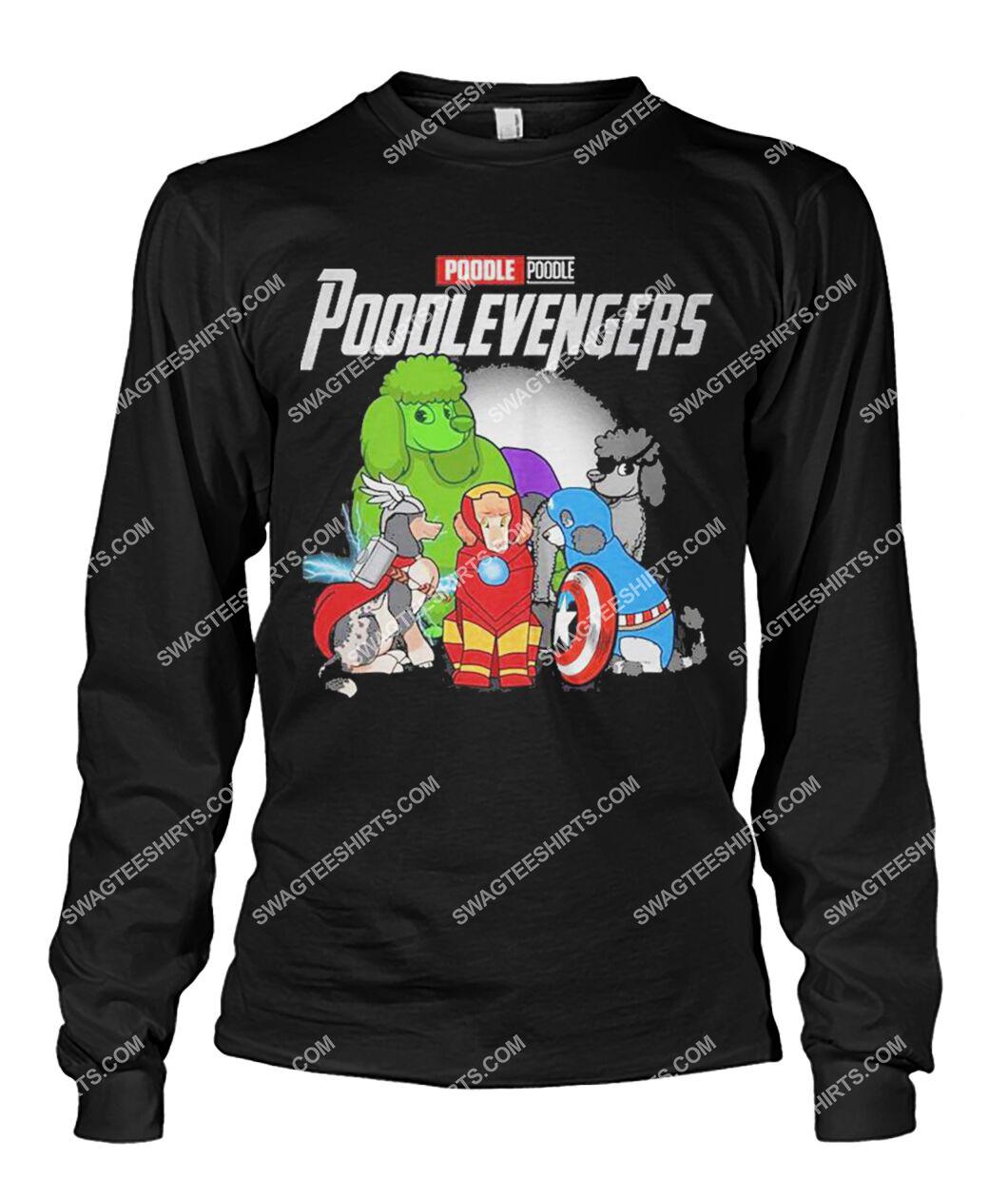 poodle poodlevengers marvel avengers dogs lover sweatshirt 1