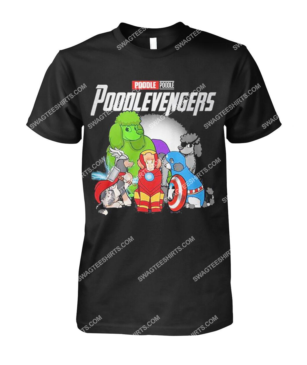 poodle poodlevengers marvel avengers dogs lover tshirt 1