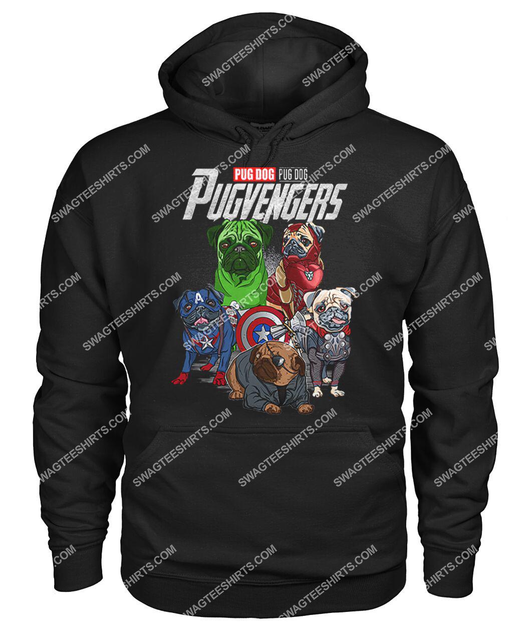pug dog pugvengers marvel avengers dogs lover hoodie 1
