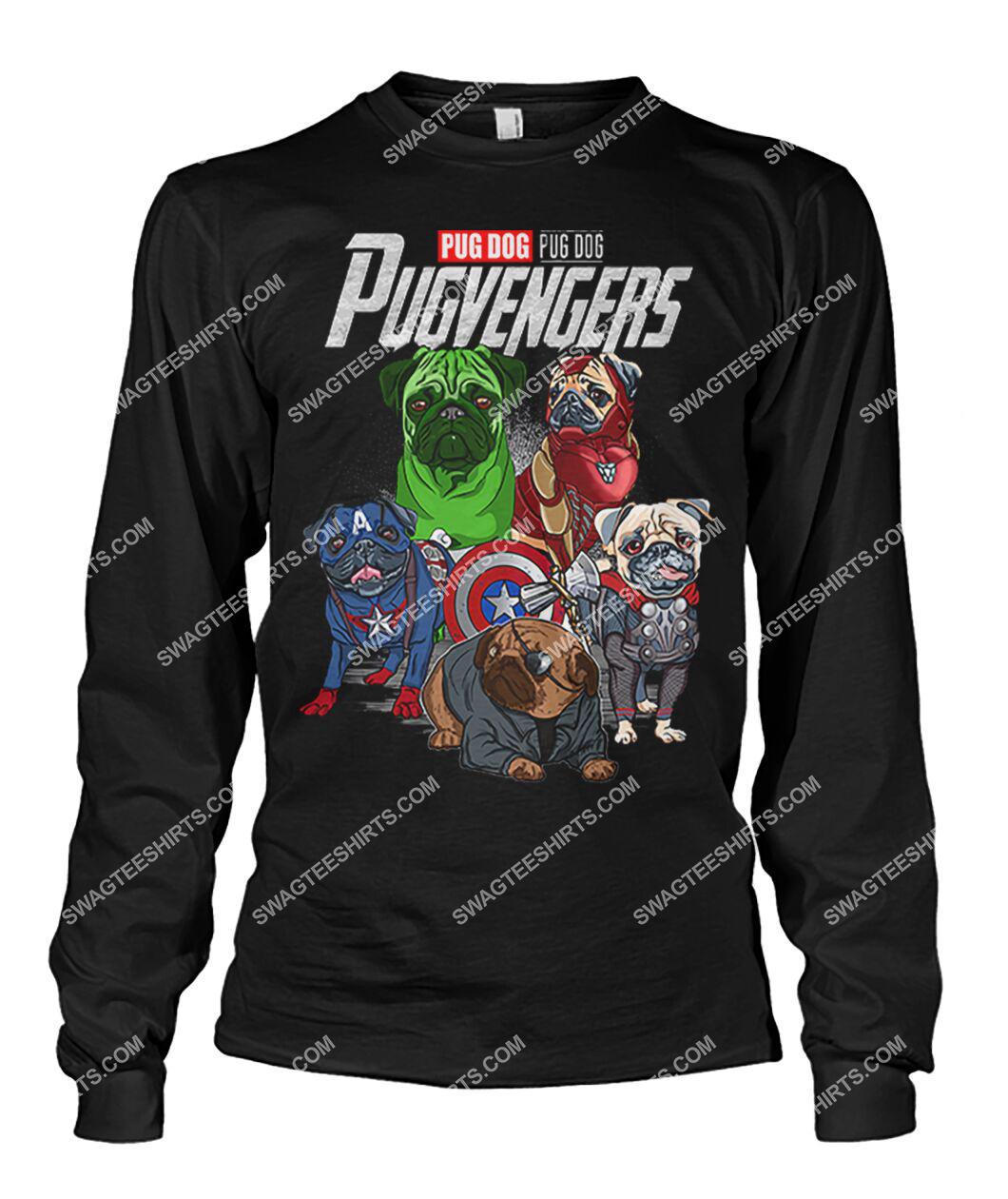 pug dog pugvengers marvel avengers dogs lover sweatshirt 1