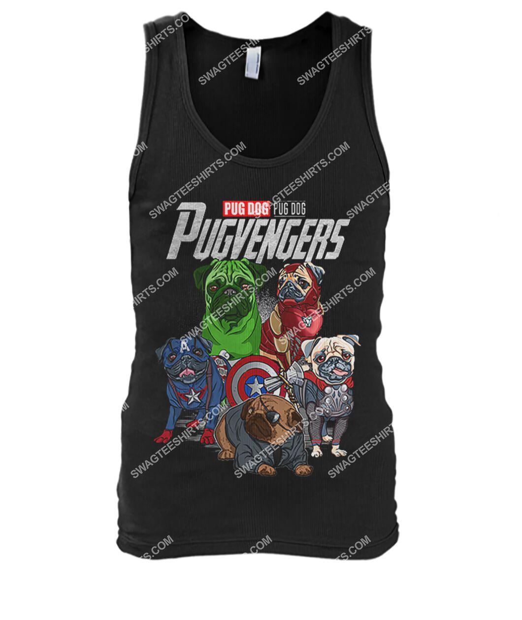 pug dog pugvengers marvel avengers dogs lover tank top 1