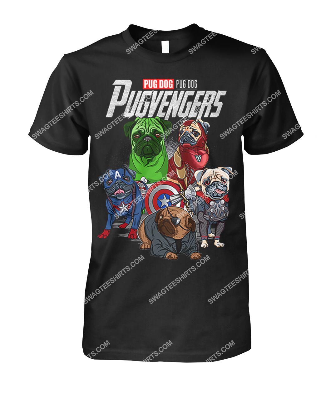 pug dog pugvengers marvel avengers dogs lover tshirt 1