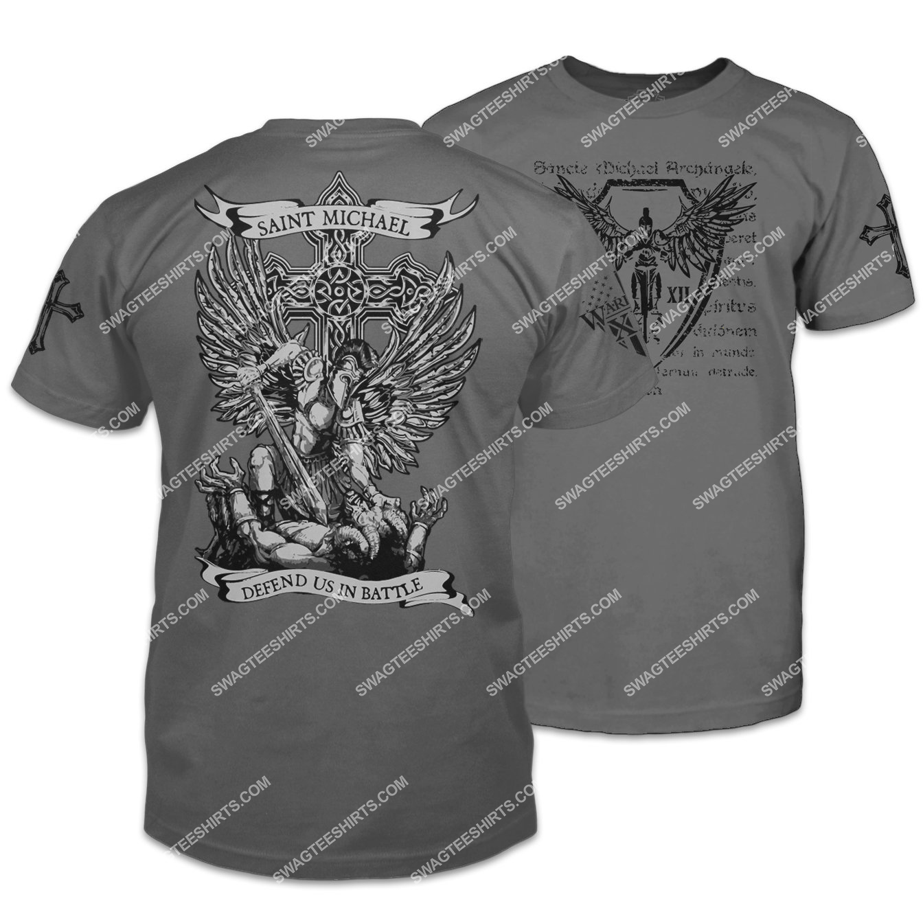 saint michael defend us in battle shirt 1 - Copy (2)