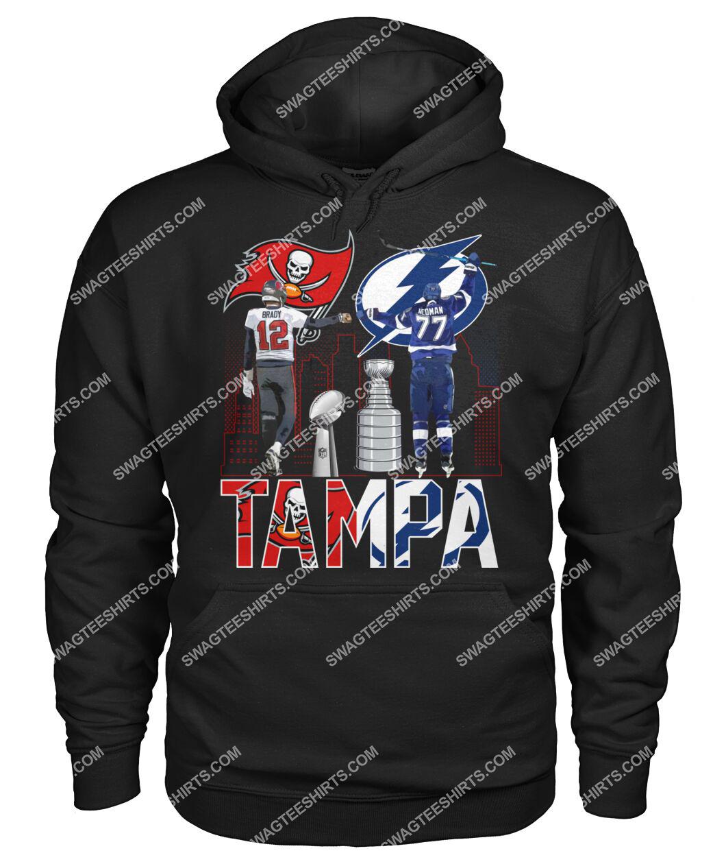 tampa bay buccaneers and tampa bay lightning hoodie 1