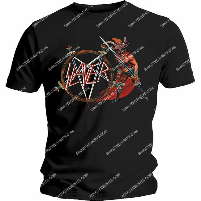 the slayer american thrash metal vintage shirt 1 - Copy