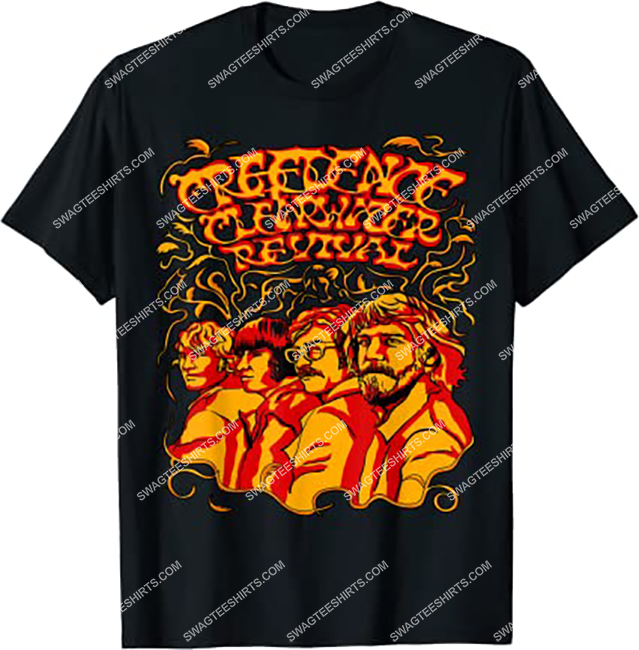 vintage creedence clearwater revival band shirt 1 - Copy (2)