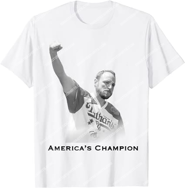 vintage joey chestnut america's champion shirt 1 - Copy (2)