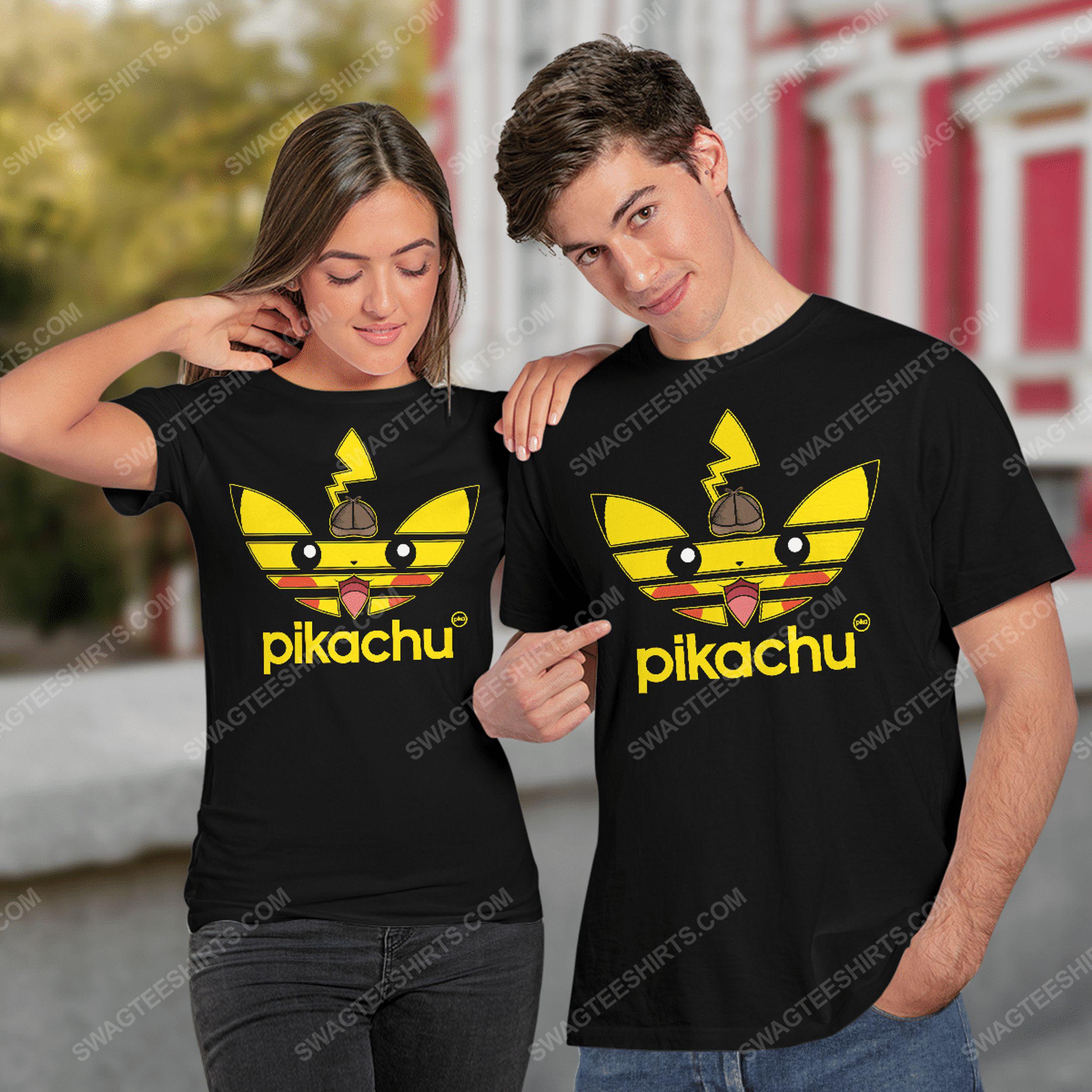 Detective pikachu pokemon tshirt 1
