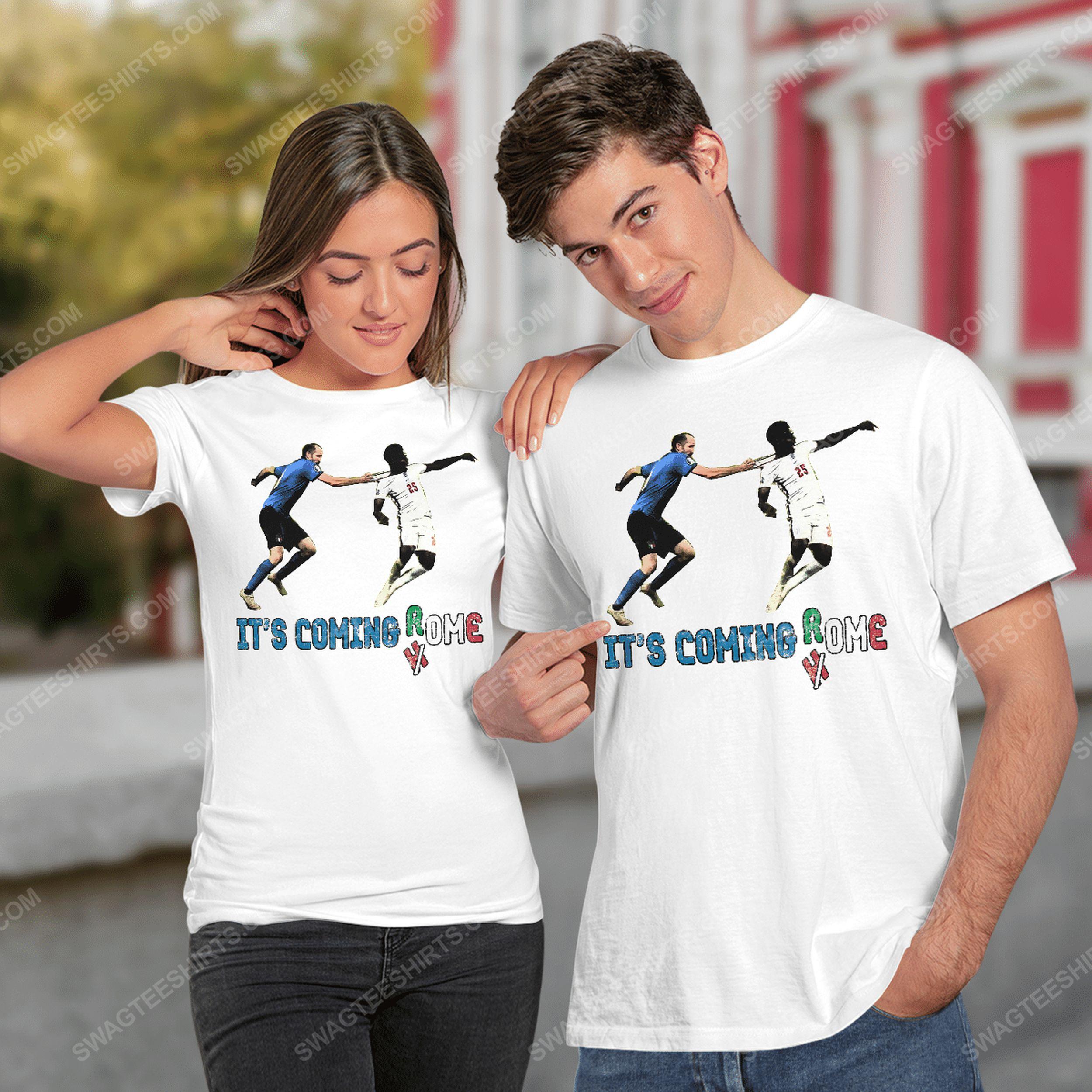 It's coming rome italy celebrate winning euro tshirt(1)