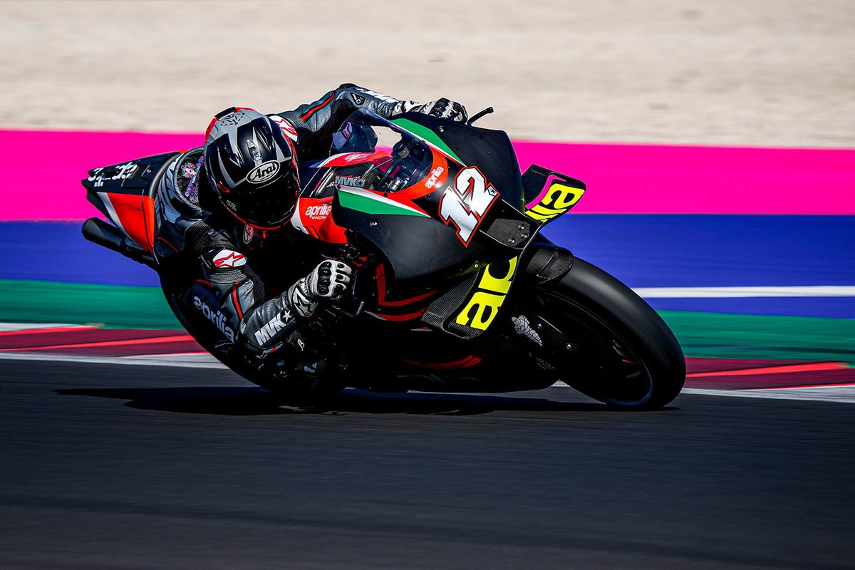 Maverick Viales' first Aprilia MotoGP test has been confirmed