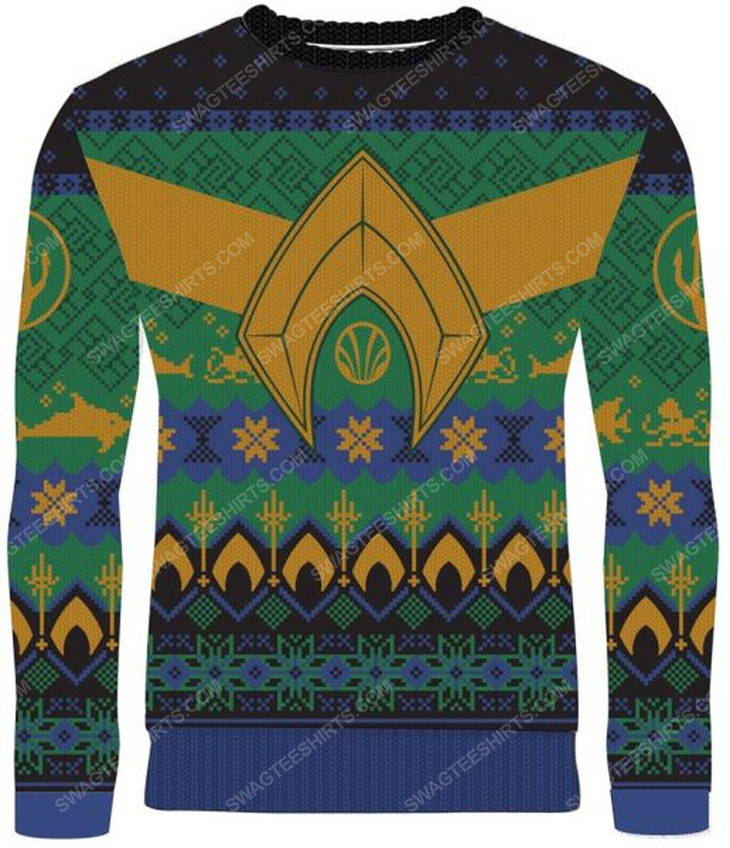 Atlantean tidings full print ugly christmas sweater 2 - Copy (2)