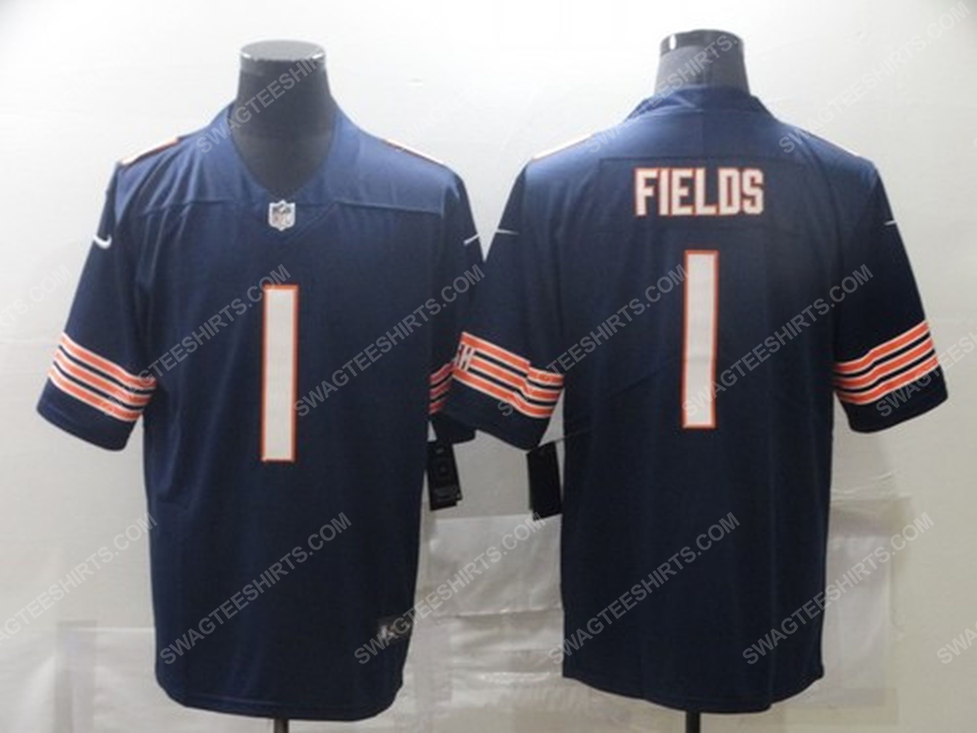 Custom name the chicago bears nfl football jersey 1 - Copy (2)