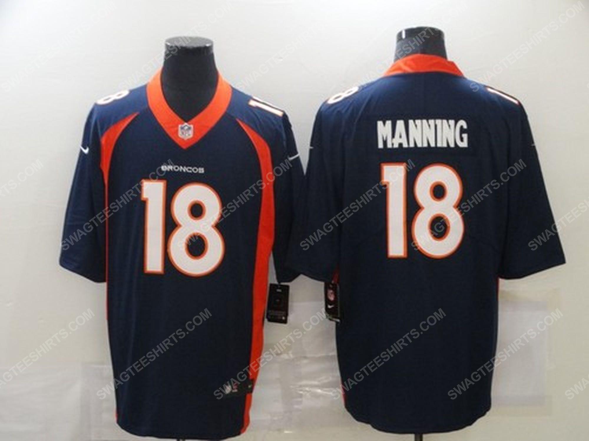 Custom name the denver broncos nfl football jersey 1 - Copy (2)