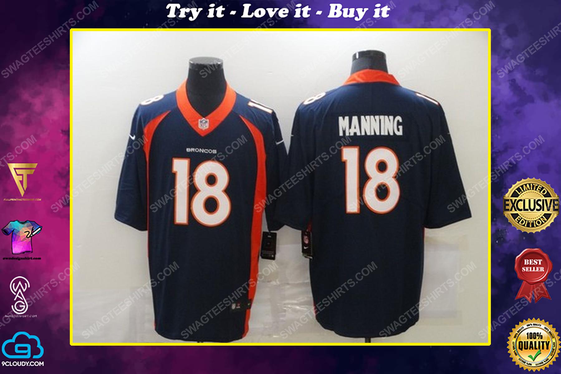 Custom name the denver broncos nfl football jersey