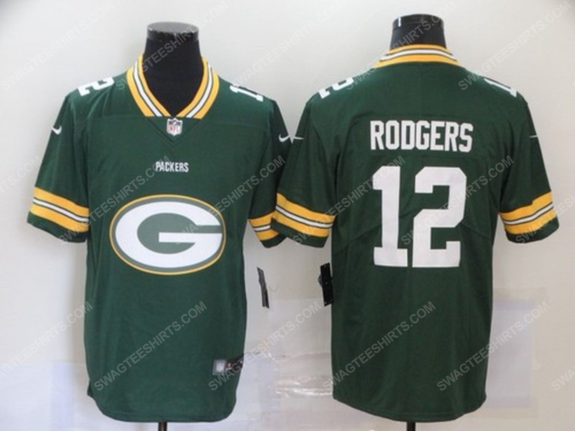 Custom name the green bay packers nfl football jersey 1 - Copy (2)