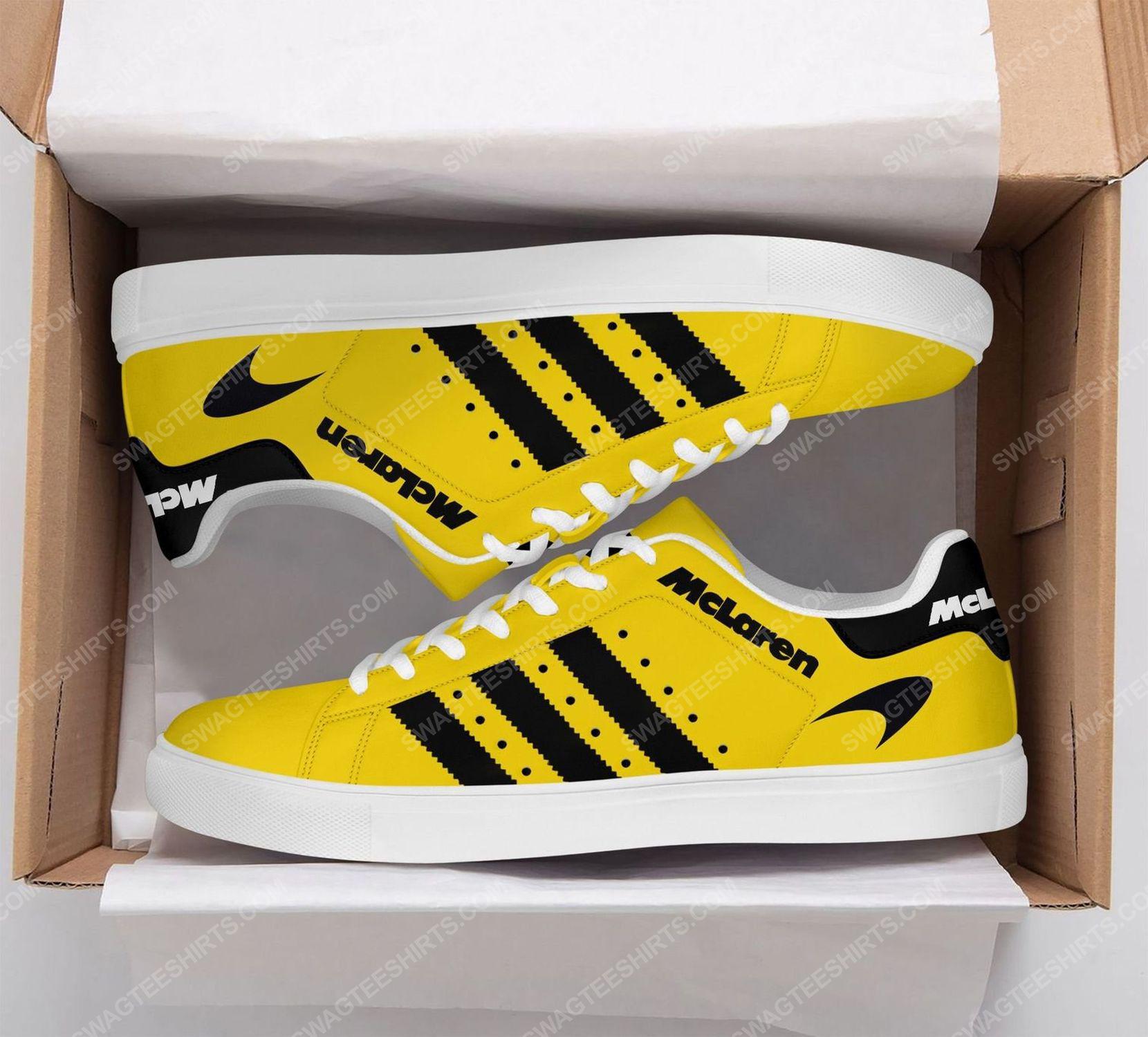 Mclaren automotive racing version yellow stan smith shoes 2