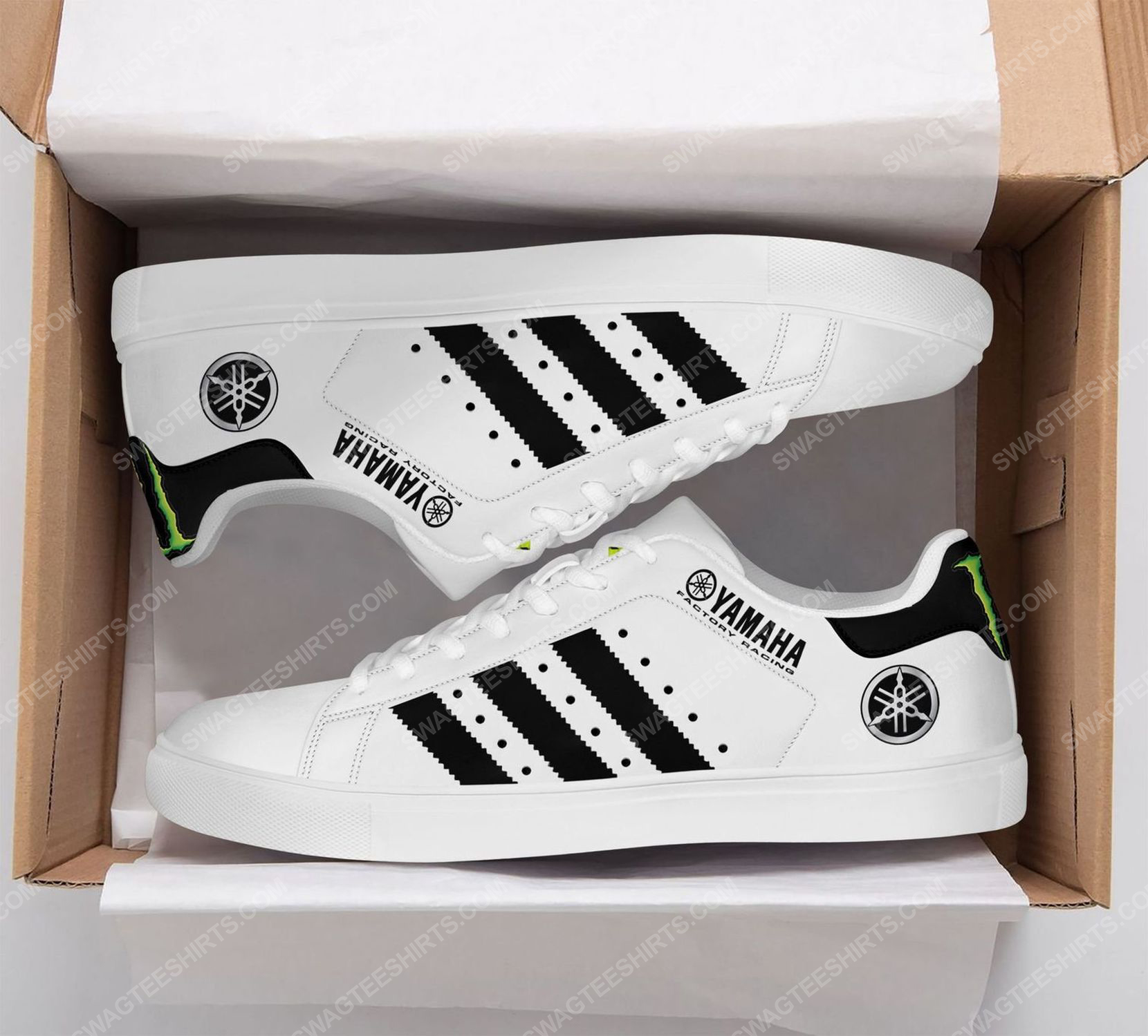Monster energy yamaha factory racing stan smith shoes 2