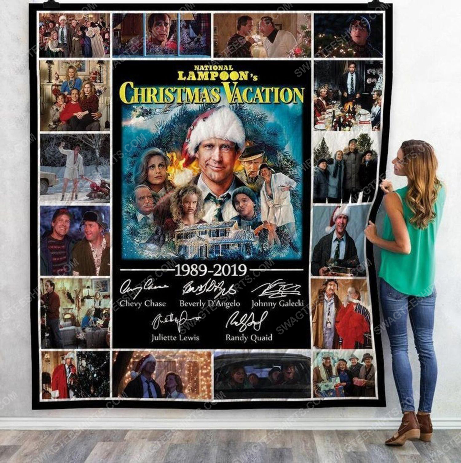 National lampoons christmas vacation blanket 2 - Copy (2)
