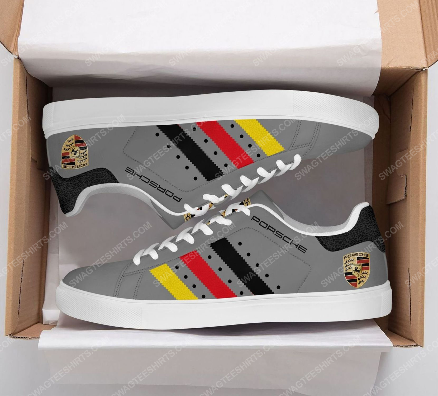 Porsche motorsport version grey stan smith shoes 2