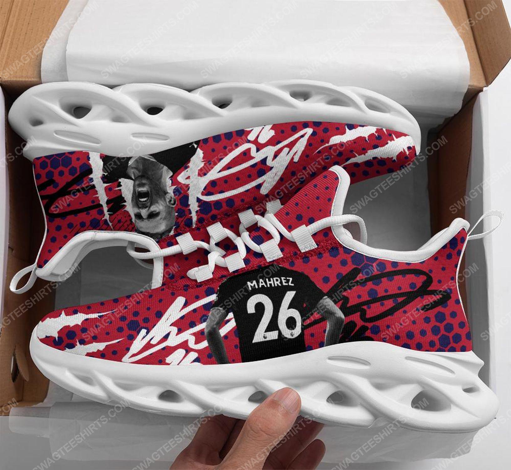 Riyad mahrez manchester city football club max soul shoes 1 - Copy (2)