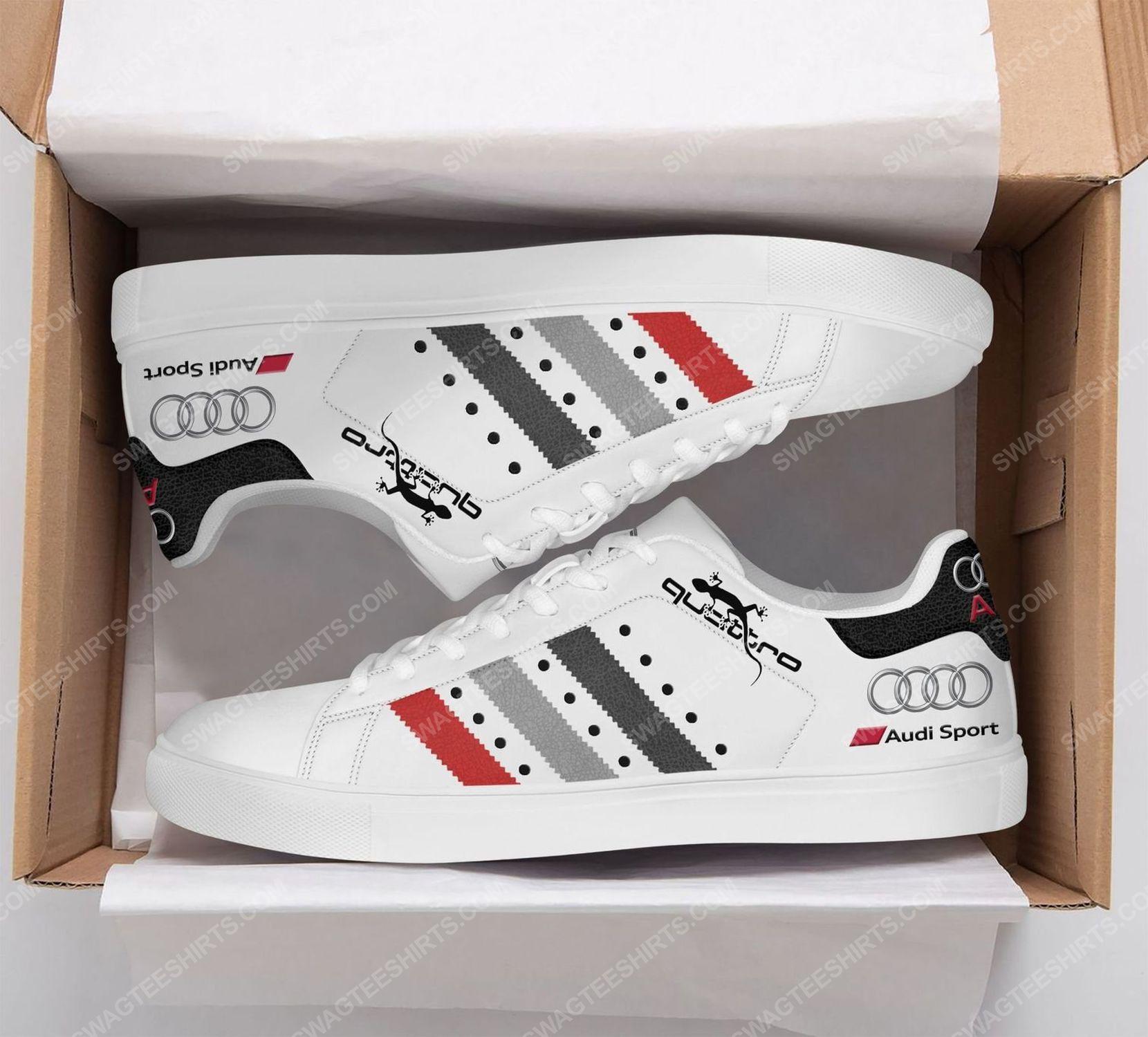 The audi quattro version white stan smith shoes 2