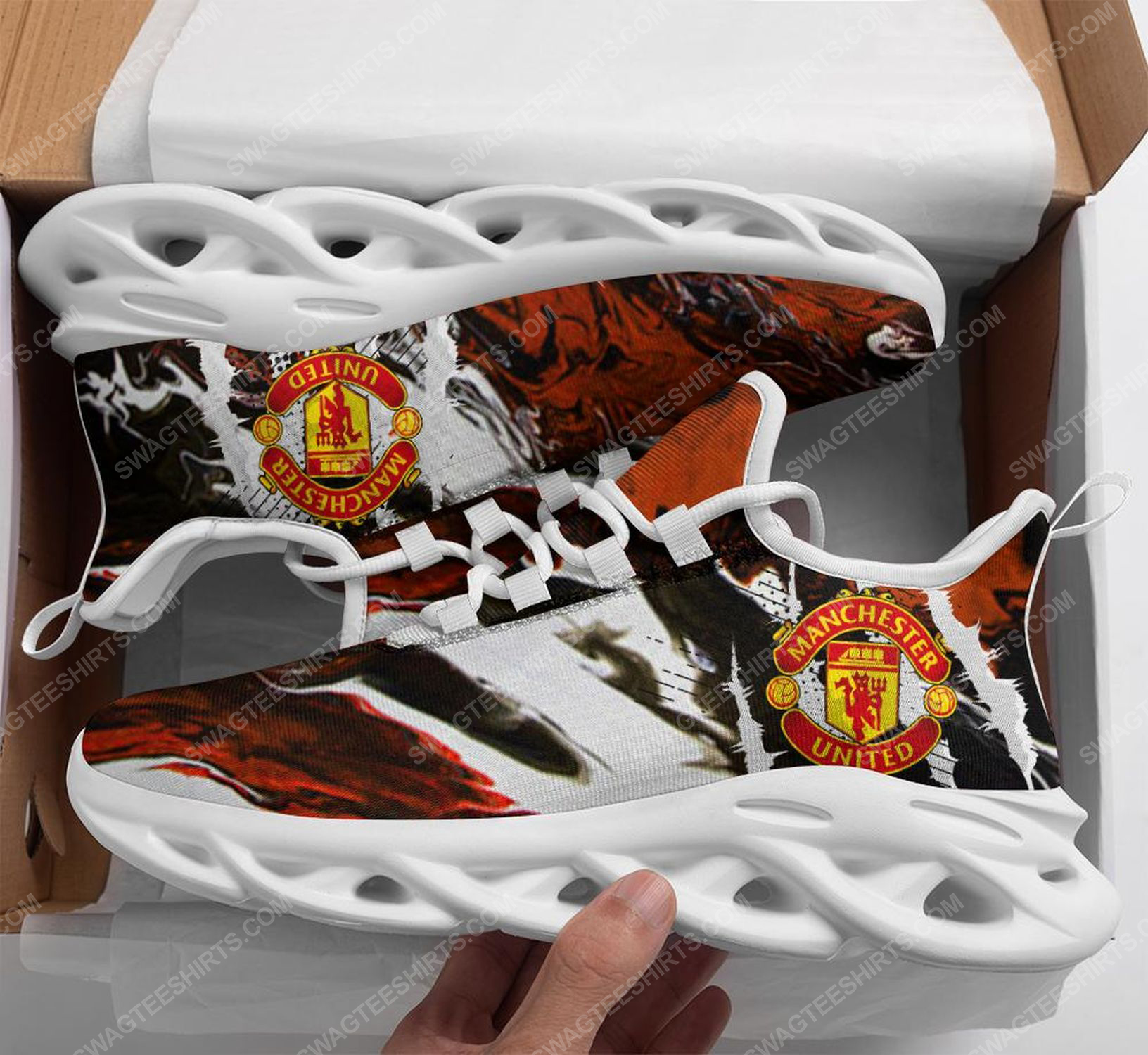 The manchester united football club max soul shoes 1 - Copy (2)