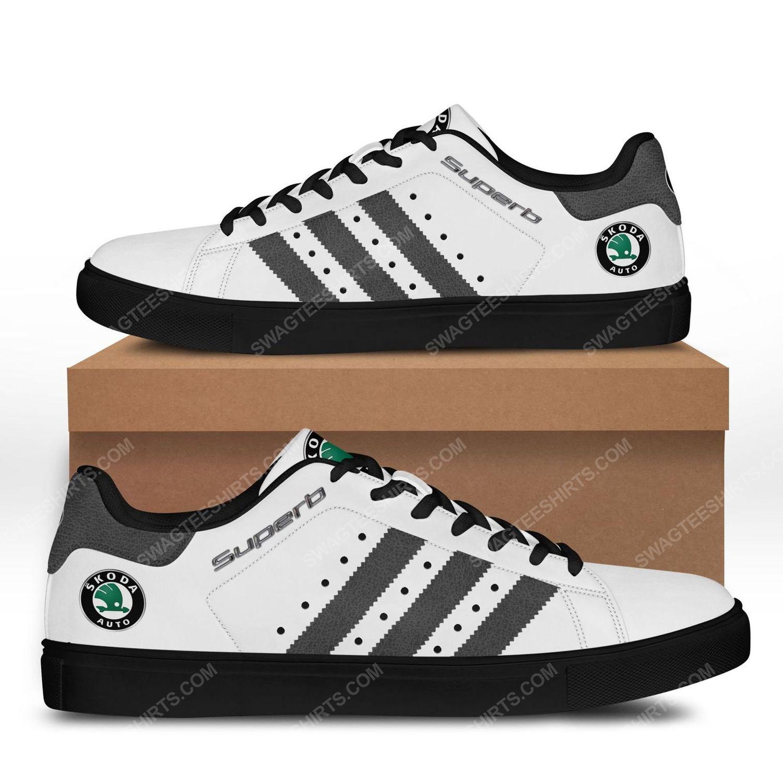 The skoda superb auto car stan smith shoes - black 1