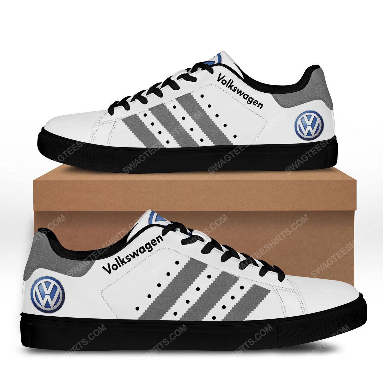 The volkswagen version grey stan smith shoes - black 1