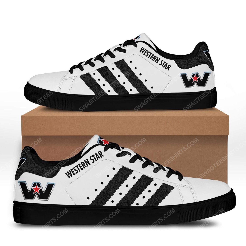 The western star trucks version black stan smith shoes - black 1
