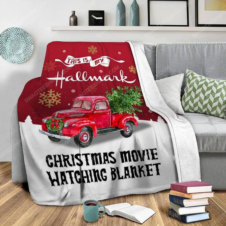 This is my hallmark christmas movie watching blanket 2 - Copy (2)