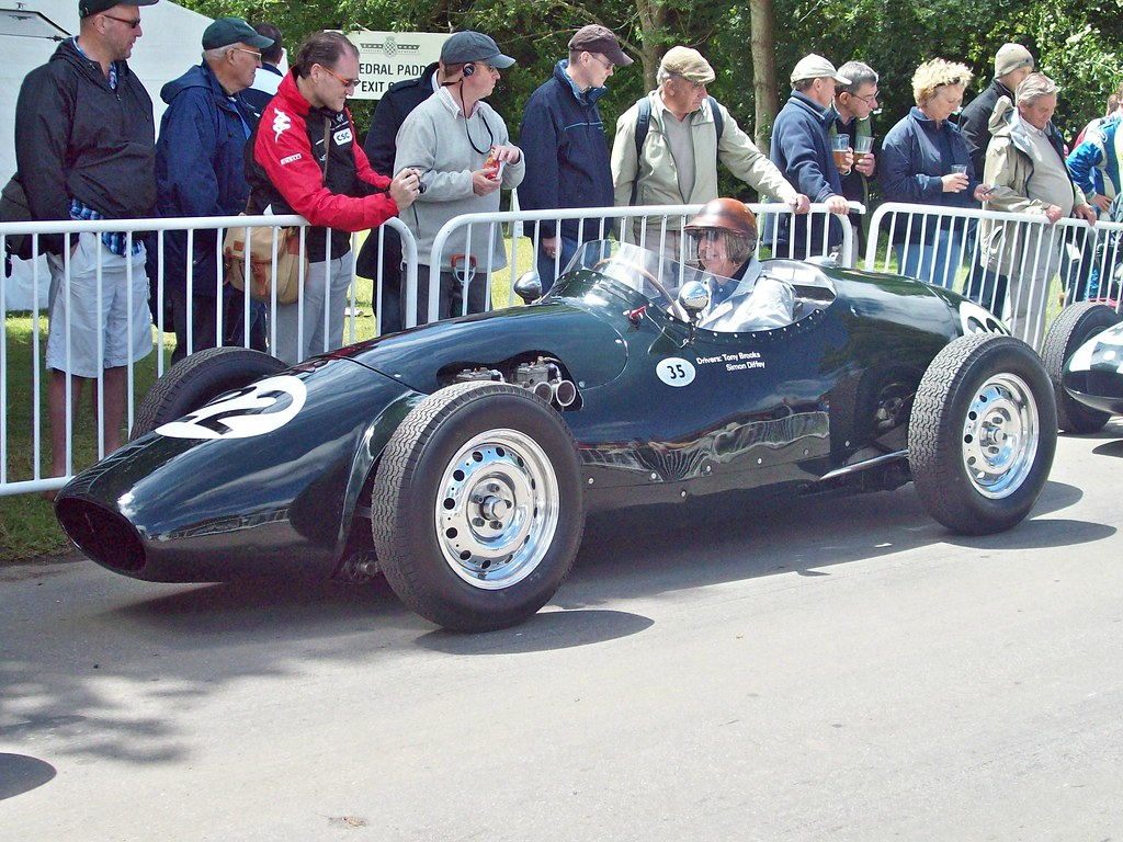 Tony Vandervell is a visionary in the world of Formula One