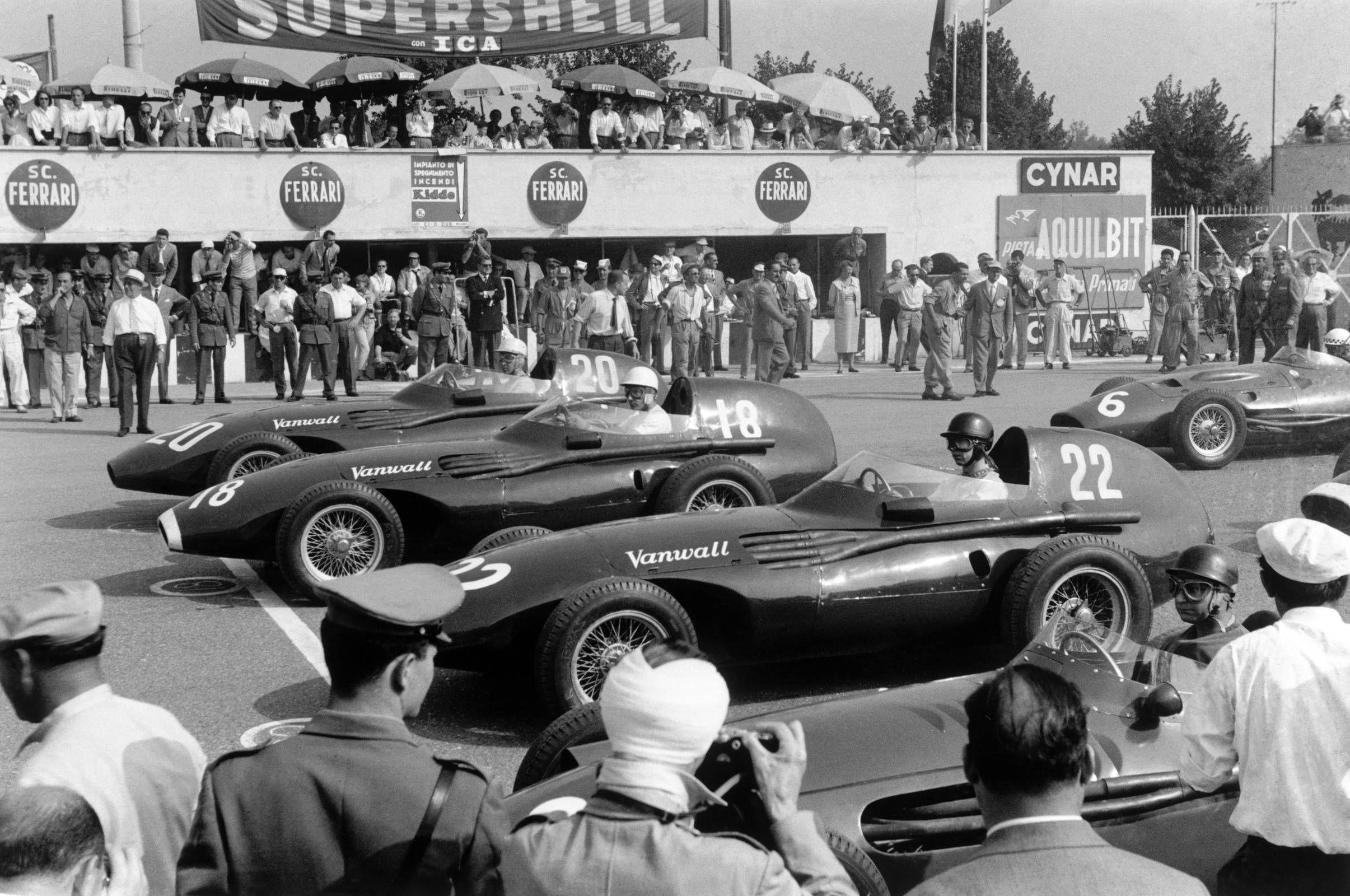 Vanwall's F1 dreamerTony Vandervell