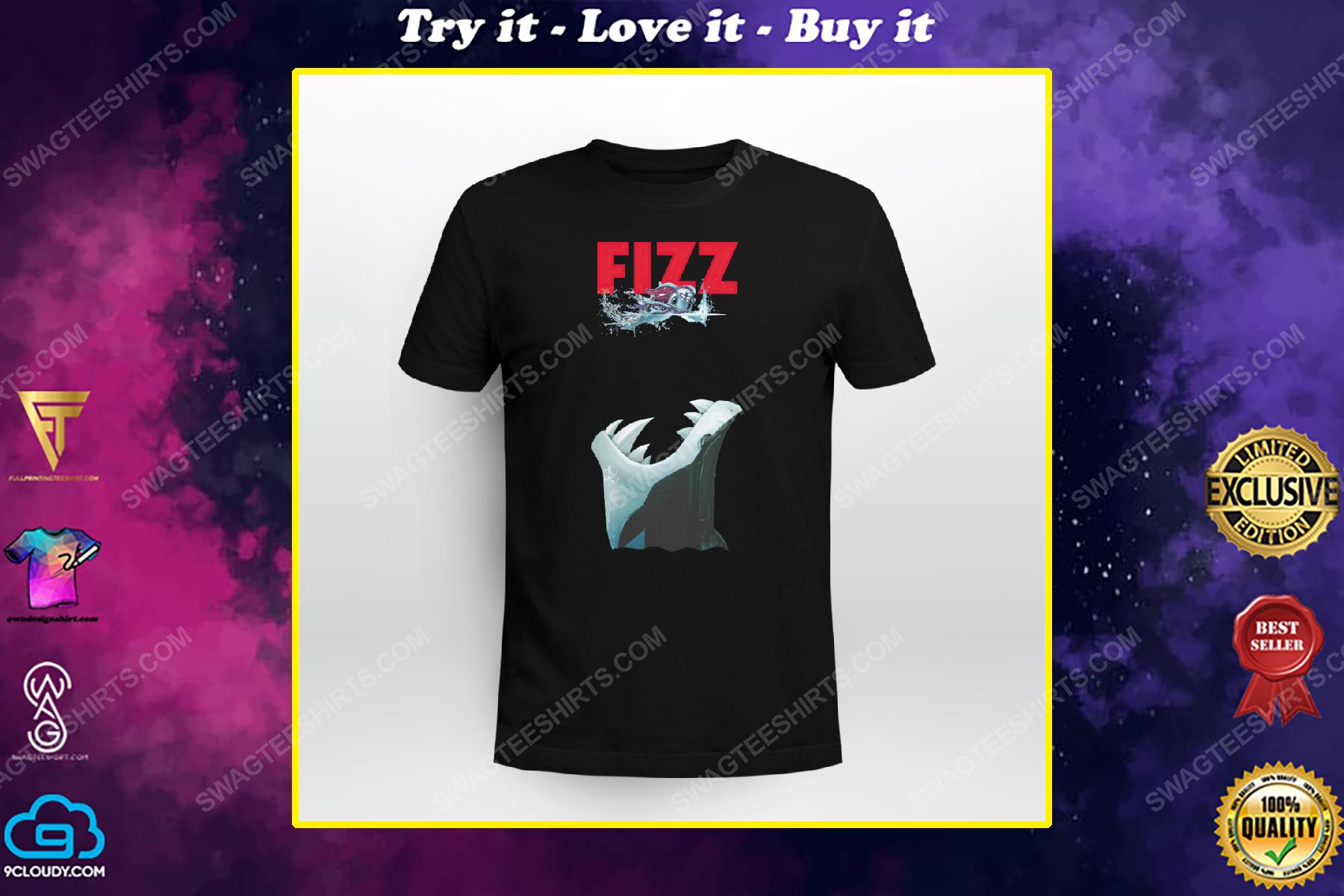 Fizz ver jaws shark week shirt