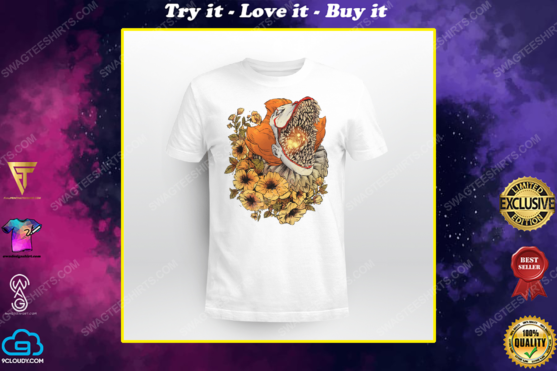 Flower it pennywise the dancing clown shirt