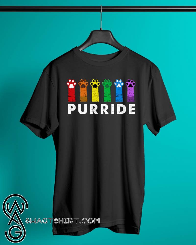 Gay pride cat lgbt purride shirt