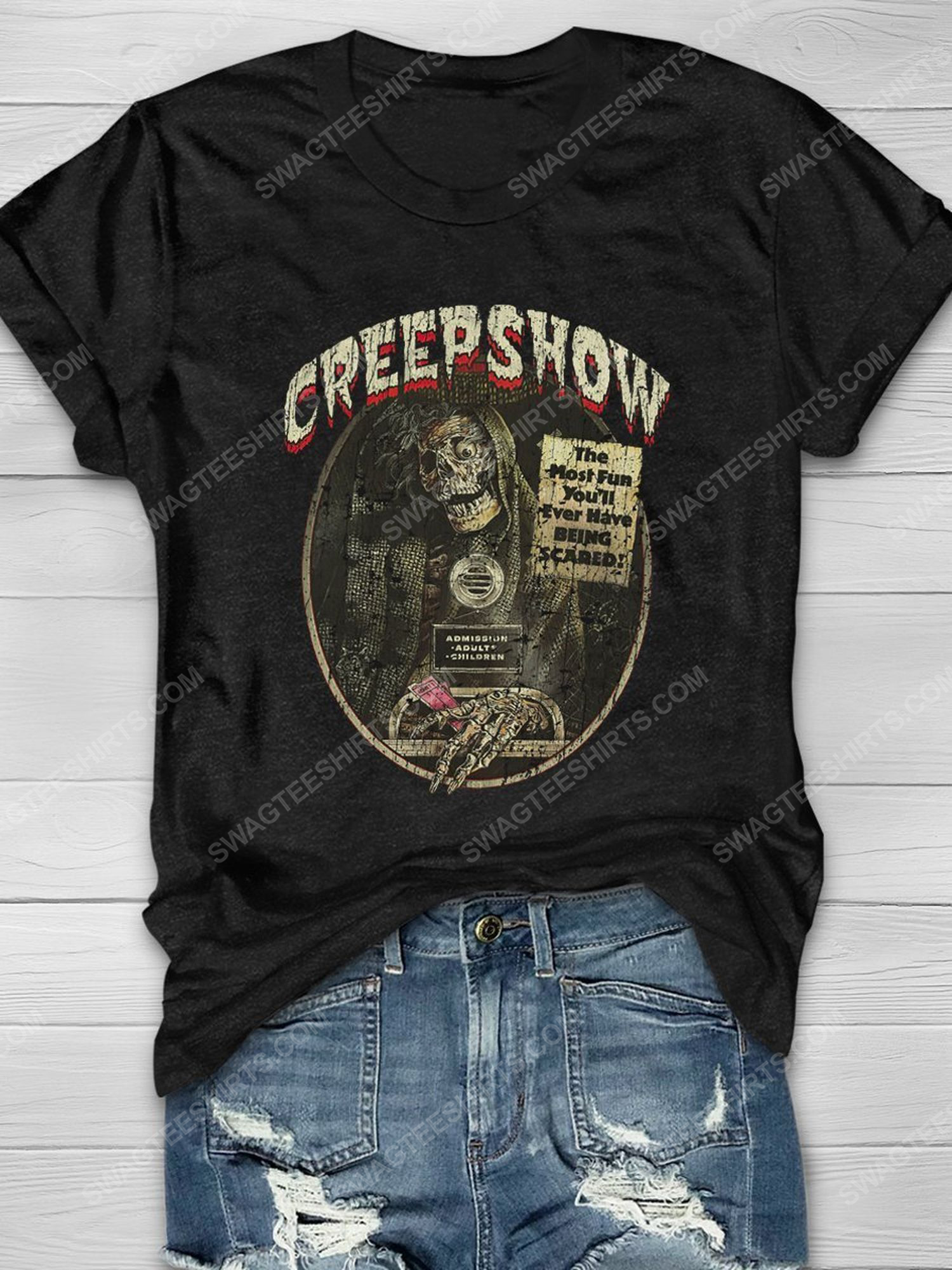 Halloween creepshow the most fun you'll ever have being scared shirt 1 - Copy