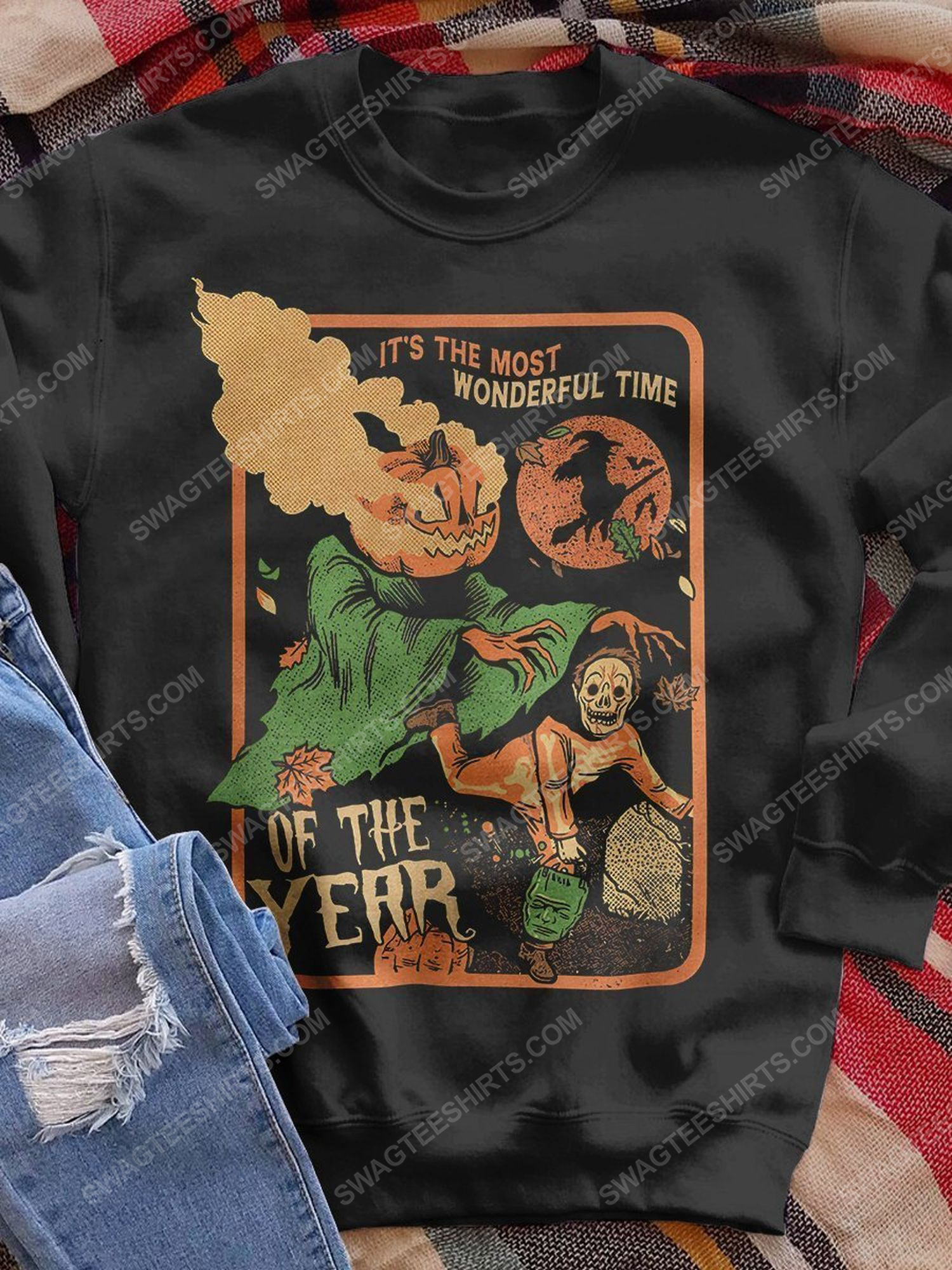 Halloween it's the most beautiful time of the year shirt