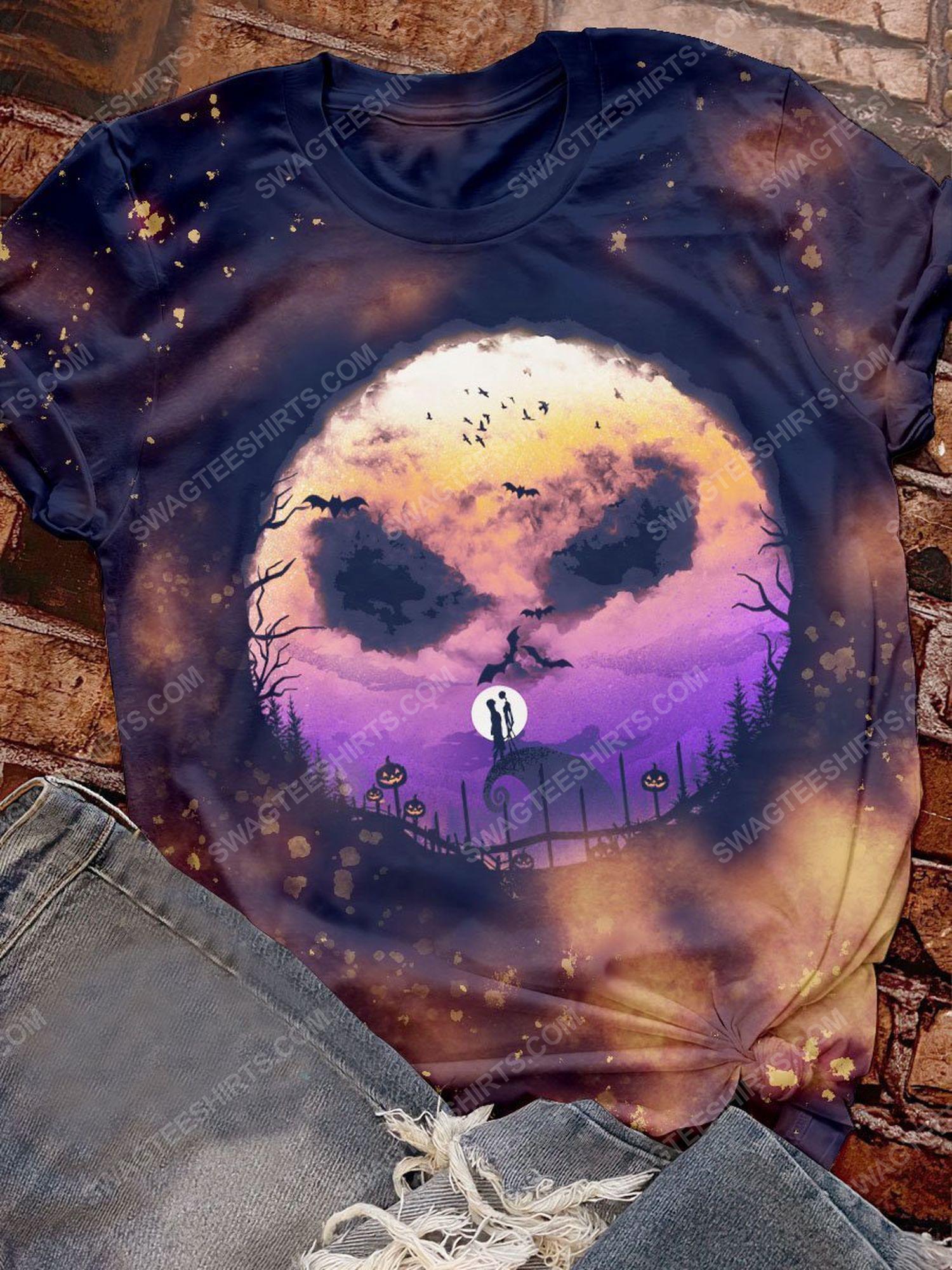 Halloween jack skellington and the nightmare before christmas shirt 1 - Copy (3)
