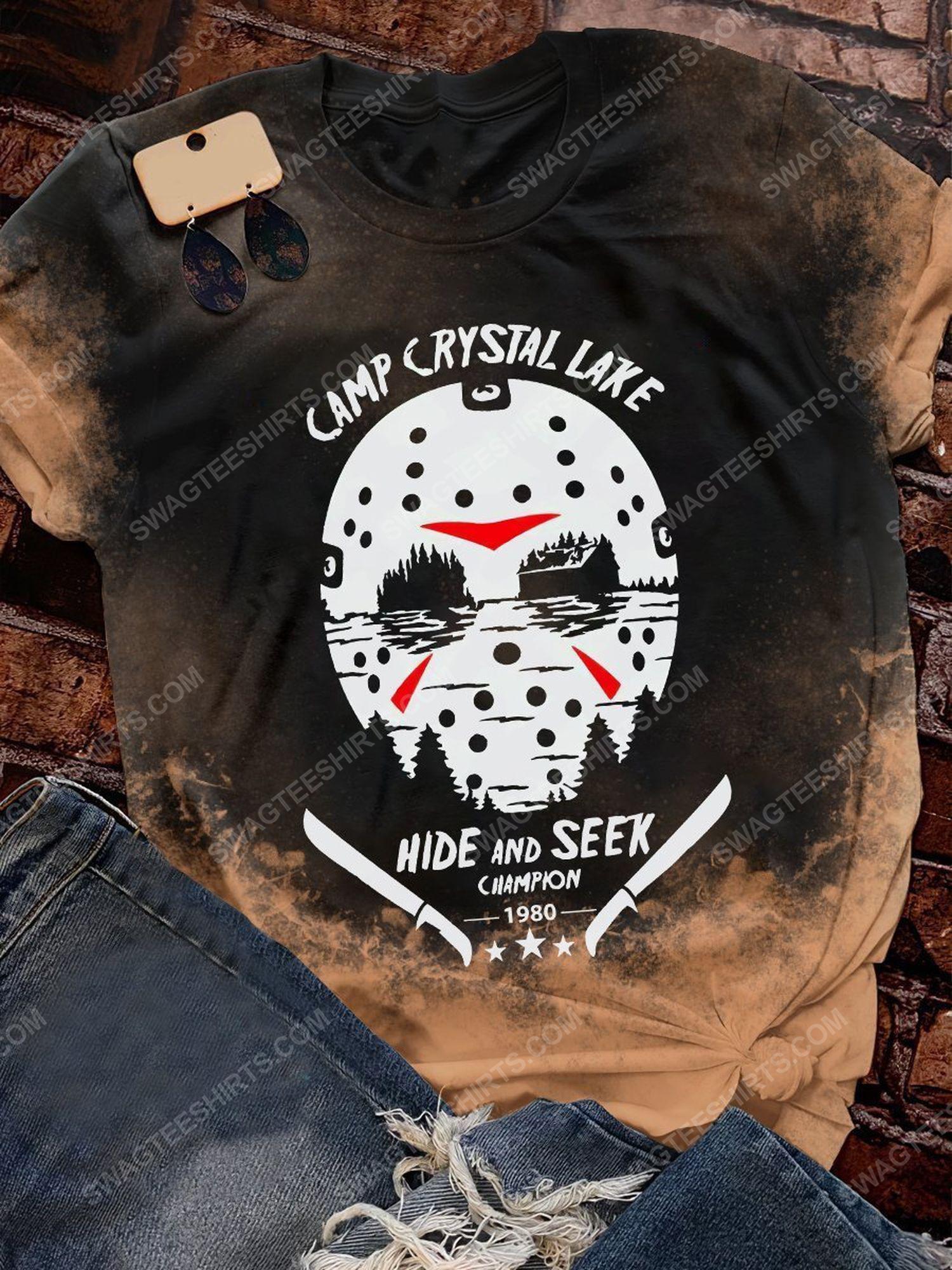 Halloween jason camp crystal lake hide and seek champion shirt 1 - Copy (2)