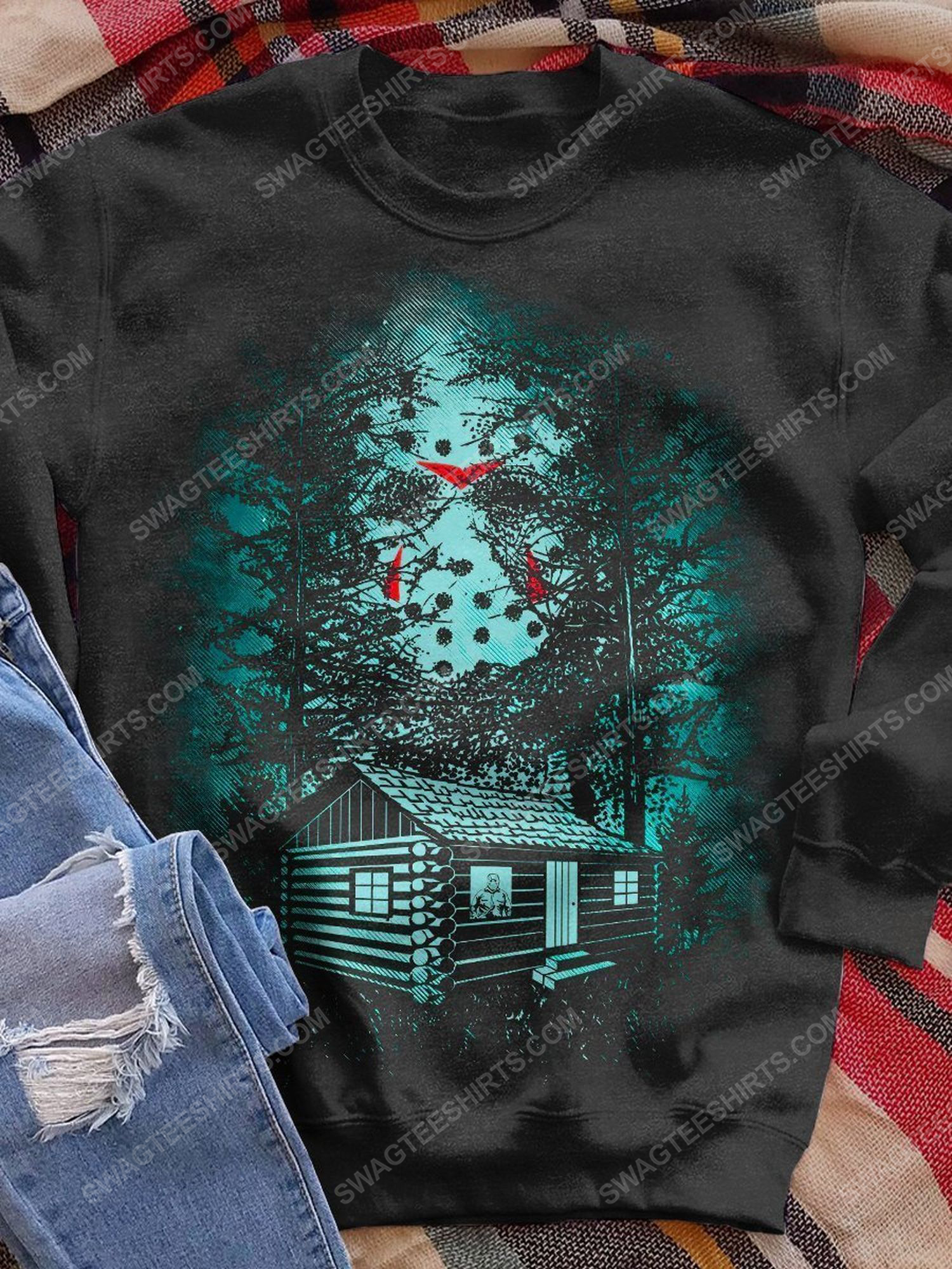 Halloween jason voorhees friday the 13th series shirt