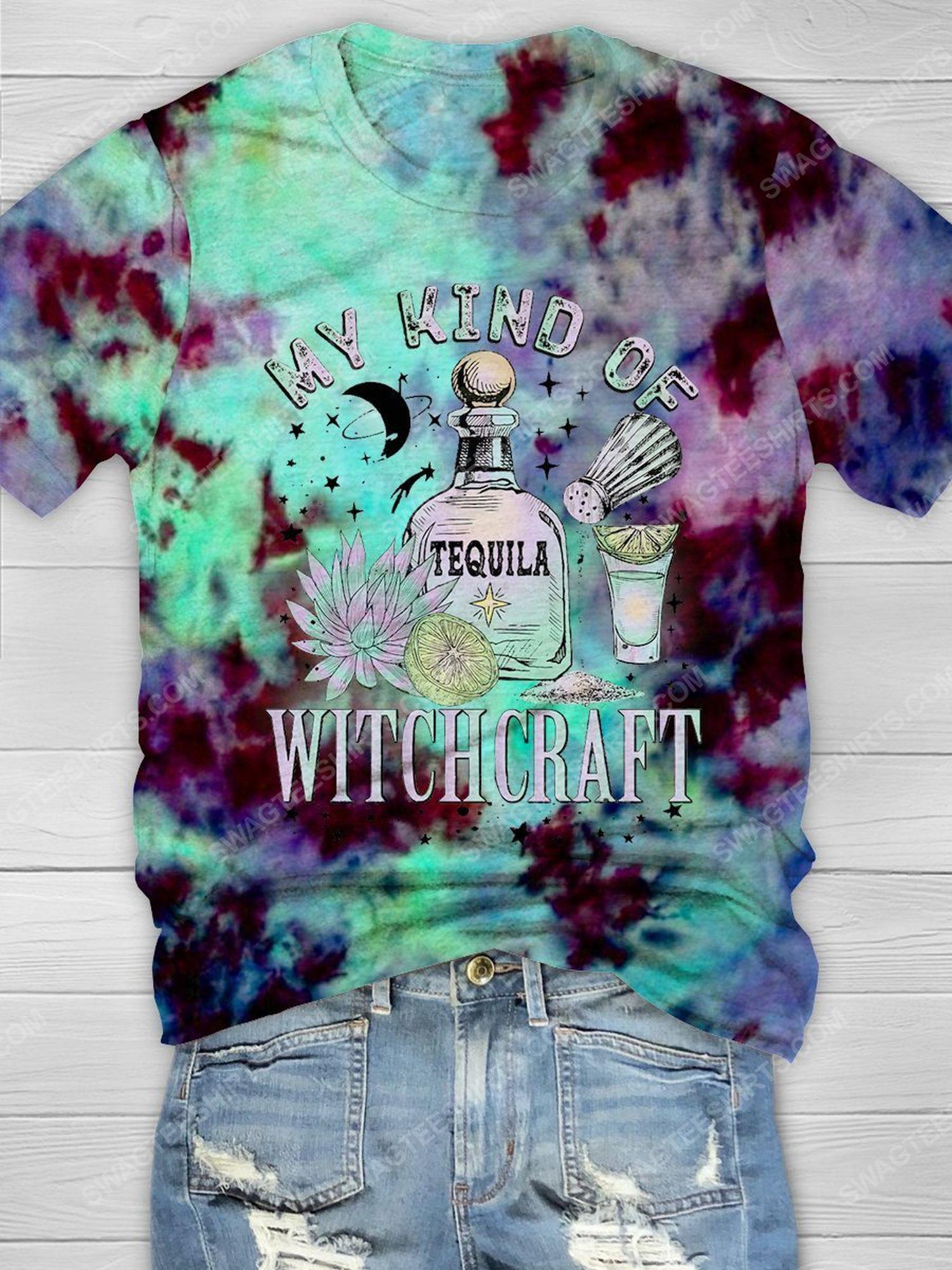 Halloween my kind of witchcraft tie dye shirt 1 - Copy (2)