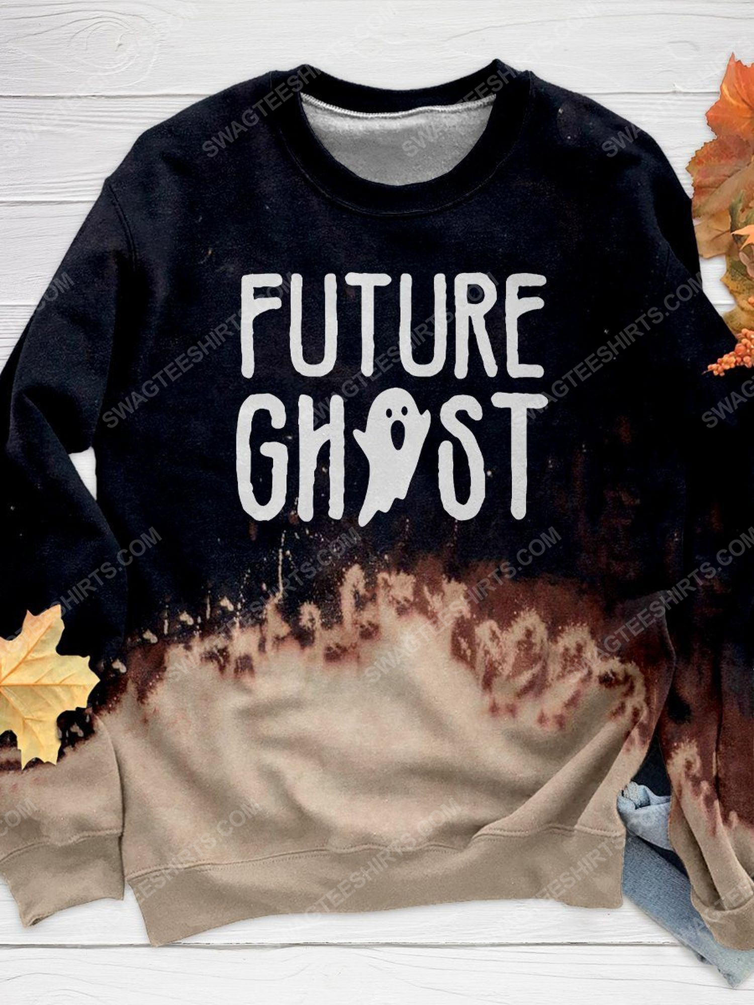 Halloween night and furture ghost full print shirt 1 - Copy (2)