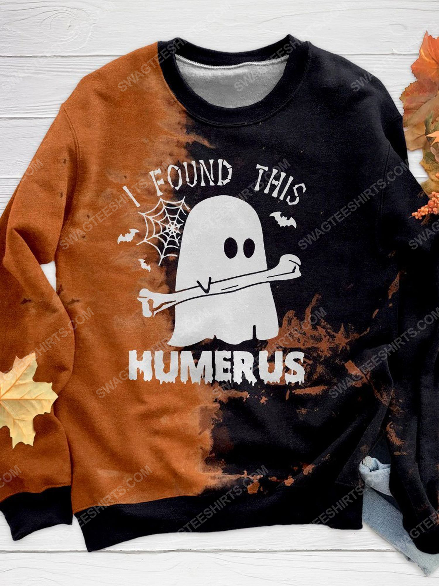 Halloween night ghost i found this humerus shirt 1 - Copy