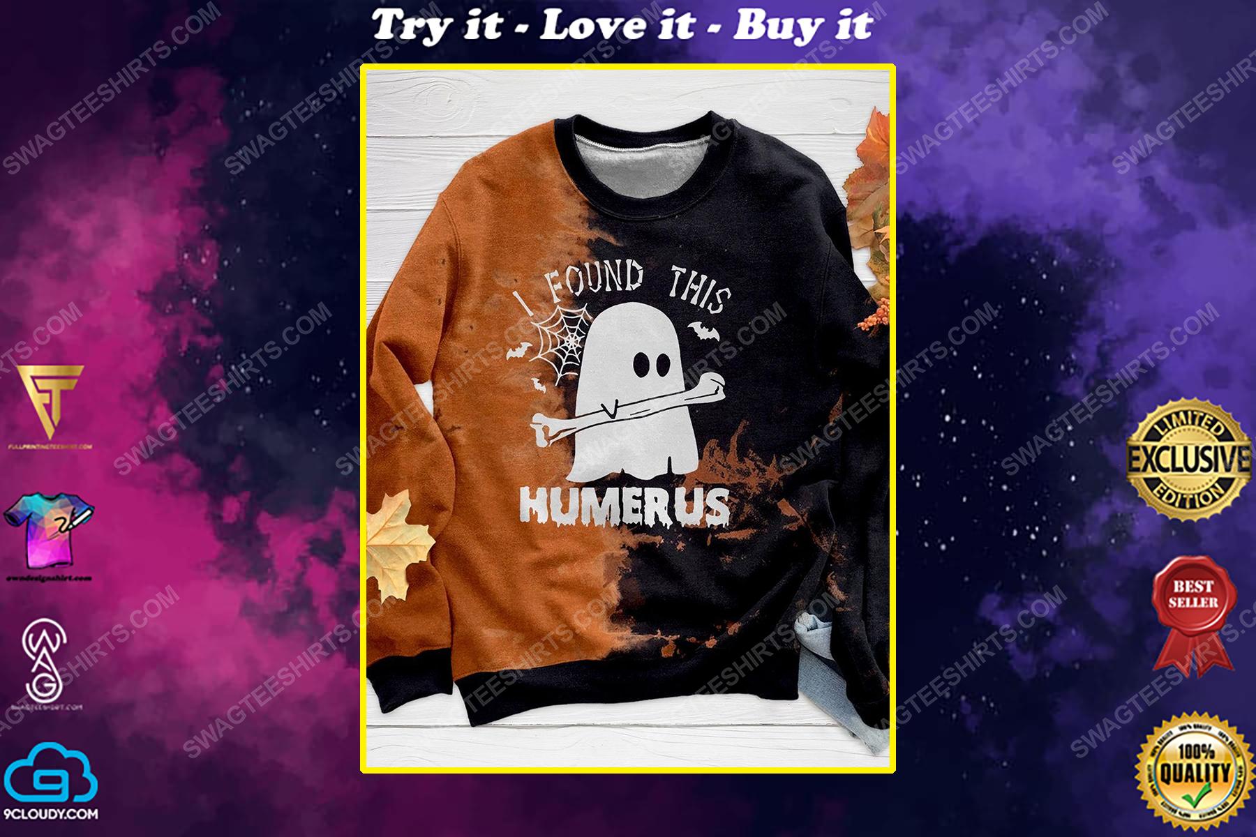 Halloween night ghost i found this humerus shirt