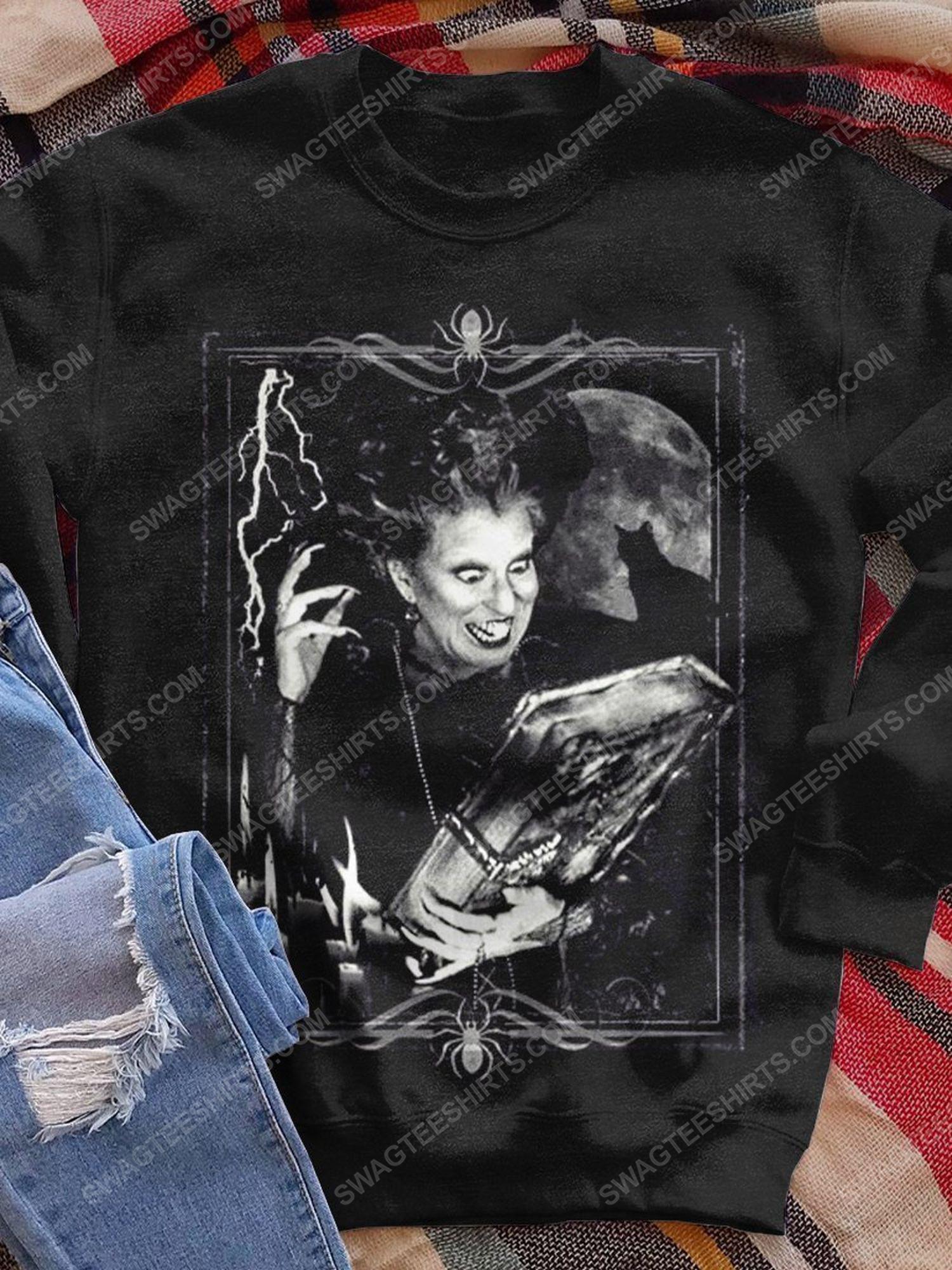 Halloween night hocus pocus witch shirt 1